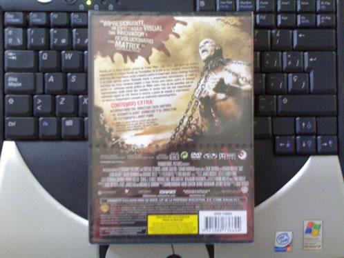 DVD de 300 listo para enviar (Contraportada)